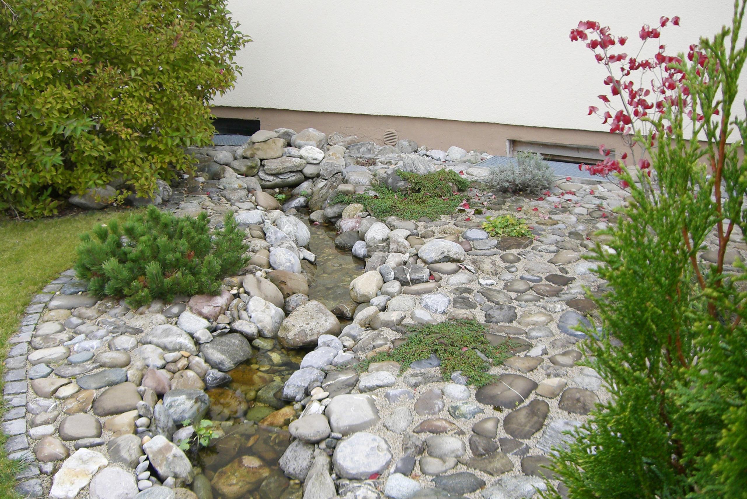 Nat Rlicher Bachlauf Tobisch Gartengestaltung